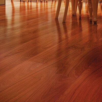 3 Solid Brazilian Walnut Hardwood Flooring in Brown