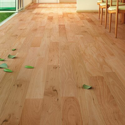 4 Solid Amendoim Hardwood Flooring in Natural