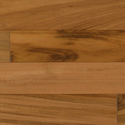 6-1/4 Engineered Tigerwood Hardwood Flooring in Natural