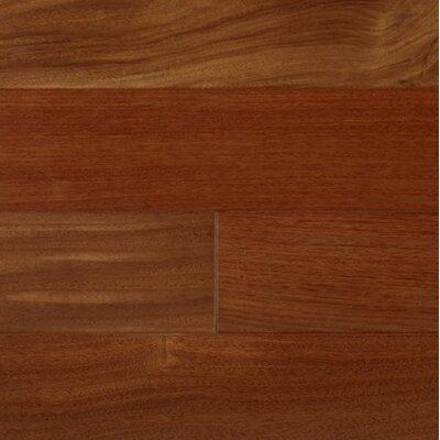 3-1/4 Engineered Santos Mahogany Hardwood Flooring in Natural