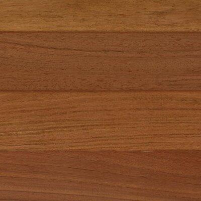6-1/4 Engineered Brazilian Cherry Hardwood Flooring in Brown