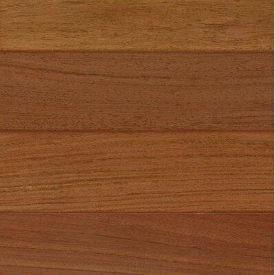 3 Engineered Brazilian Cherry Hardwood Flooring in Brown