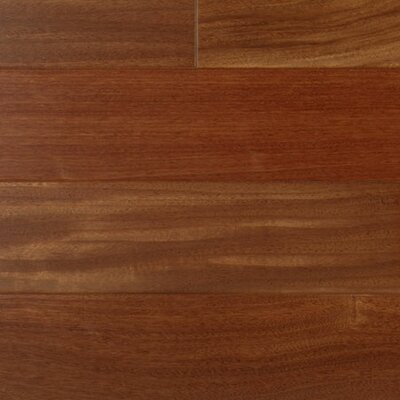 3 Engineered Santos Mahogany Hardwood Flooring in Brown