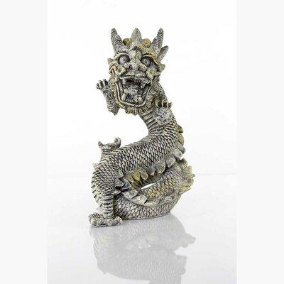 Decorative Stone Dragon Aquarium Sculpture