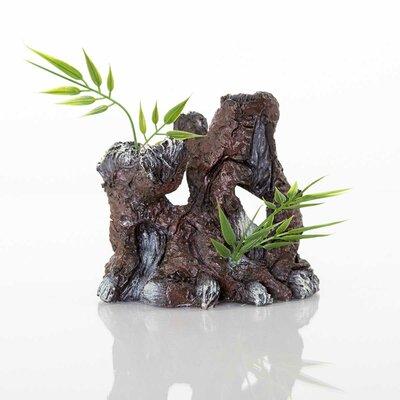 Decorative The Old Stump Aquarium Sculpture