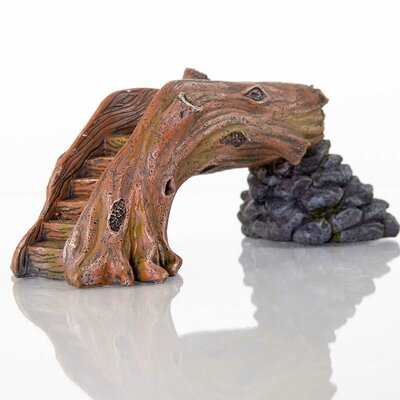Decorative Fallen Log Bridge Statue 60250200