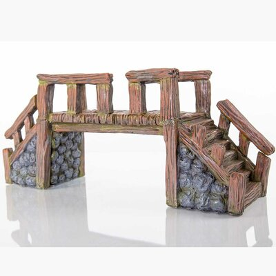 Decorative Wood Bridge Statue 60228100