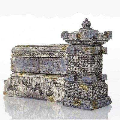 "Decorative Ubud Wall Aquarium Sculpture Size: 6.25"" H X 10"" W X 2.75"" D"