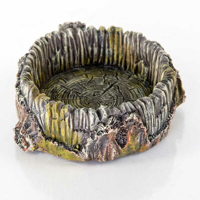 Decorative Stump Bowl Statue 60231100