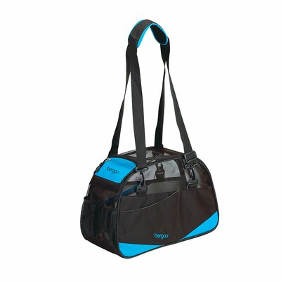 Voyager Pet Carrier Size: Small (11.5 H x 8 W x 17 D), Color: Black