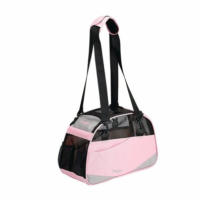 Voyager Pet Carrier Size: Small (11.5 H x 8 W x 17 D), Color: Pink