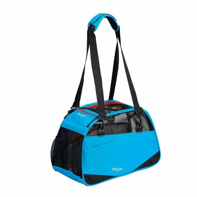 Voyager Pet Carrier Size: Medium/Large (13 H x 10 W x 19 D), Color: Bright Blue