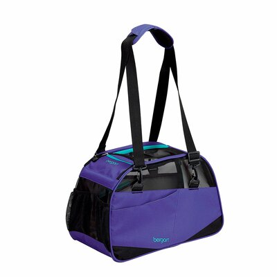 Voyager Pet Carrier Size: Medium/Large (13 H x 10 W x 19 D), Color: Purple