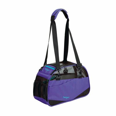 Voyager Pet Carrier Size: Small (11.5 H x 8 W x 17 D), Color: Purple