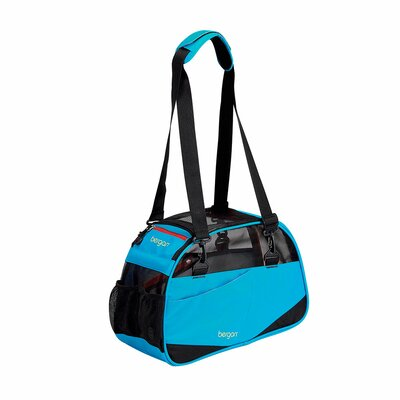 Voyager Pet Carrier Size: Small (11.5 H x 8 W x 17 D), Color: Bright Blue
