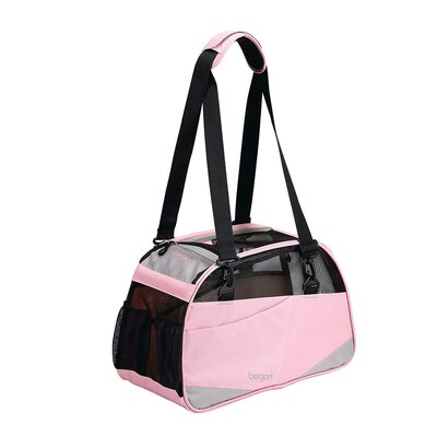 Voyager Pet Carrier Size: Medium/Large (13 H x 10 W x 19 D), Color: Pink