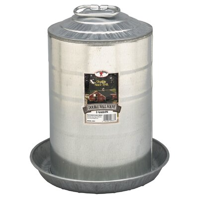 Double Wall Fount Size: 2 Gallon