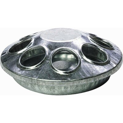 8 Hole Round Chicken Feeder