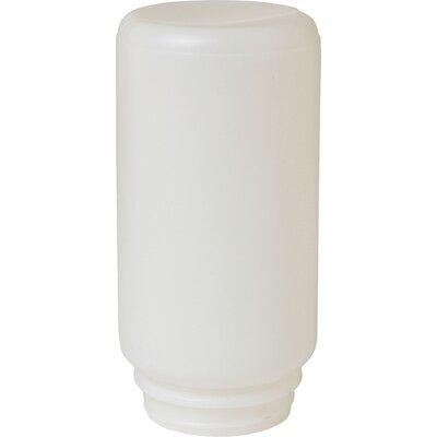 Screw On Plastic Jar Poultry Feeder in White - 1 Quart (Set of 4)