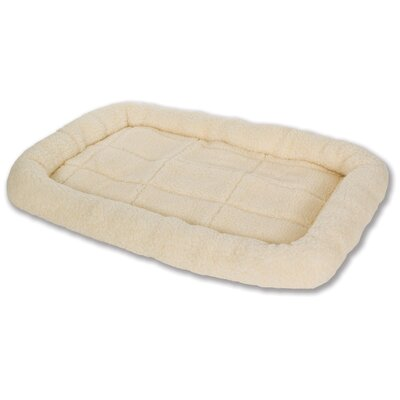 Fleece Dog Mat Size: Medium (29 L x 21.25 W)