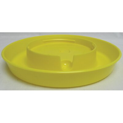 Screw-On Poultry Water Base - 1 Gallon (Set of 3) Color: Yellow