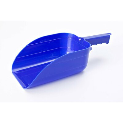 Plastic Utility Scoop Color: Blue