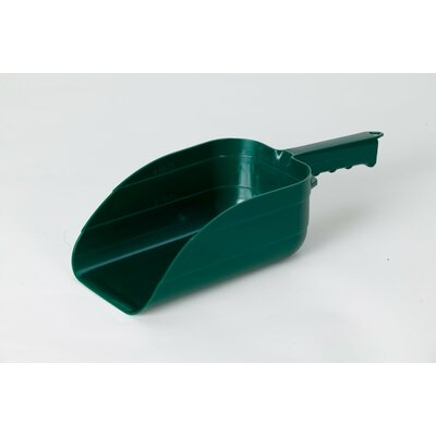 Plastic Utility Scoop Color: Green