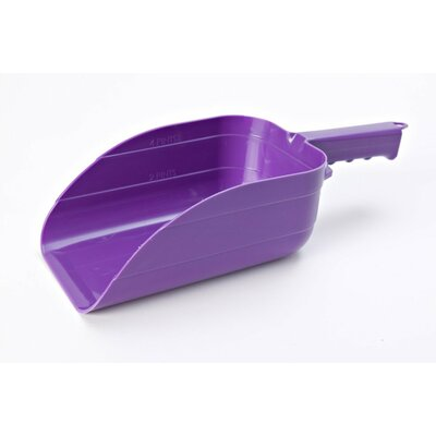Plastic Utility Scoop (Set of 2) Color: Purple