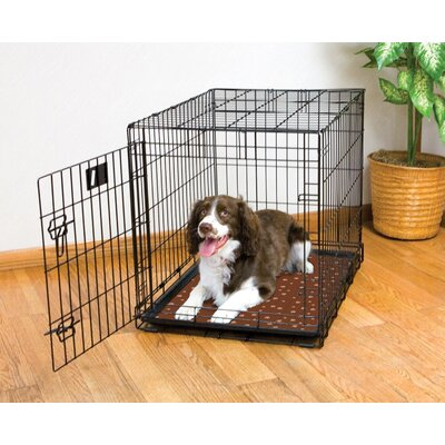 Dog Crate Mat Size: 36 L x 23 W