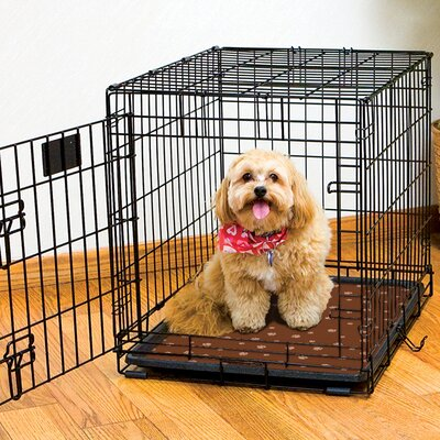 Dog Crate Mat Size: 24 L x 18 W