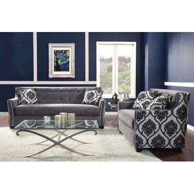 Hokku Designs Johannes Premium Damask Sofa (Set of 2) at Sears.com