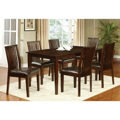 Alliani Genuine Leather Upholstered Dining Chair