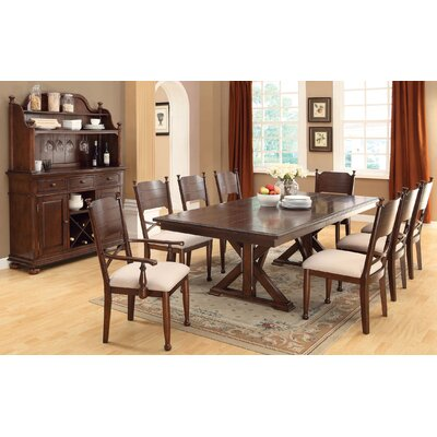 New England 9 Piece Dining Set