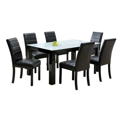 Hokku Designs Elsador Dining Table - Finish: High Gloss Black at Sears.com
