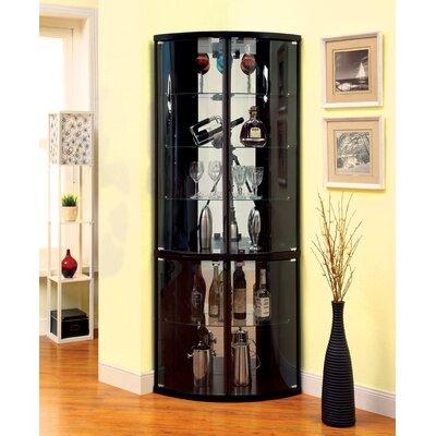 Selena Corner Curio Cabinet