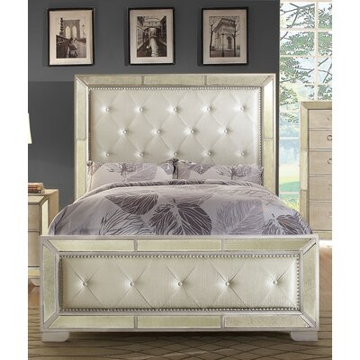 Kyle Upholstered Panel Bed