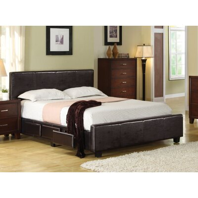 Debord Upholstered Storage Platform Bed