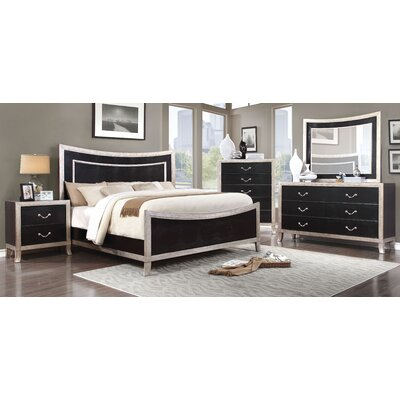 Berthe Upholstered Panel Bed