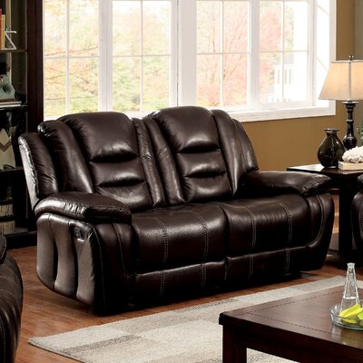 IDF-6331-LV XHX3109 Hokku Designs Cora Transitional Reclining Loveseat