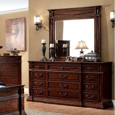 Blair 12 Drawer Dresser with Mirror
