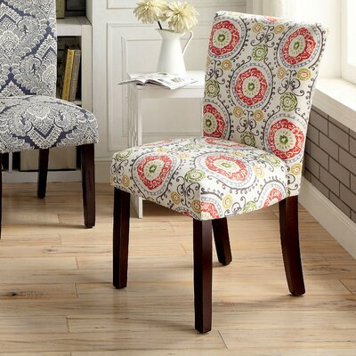 Quaoar Printed Parsons Chair