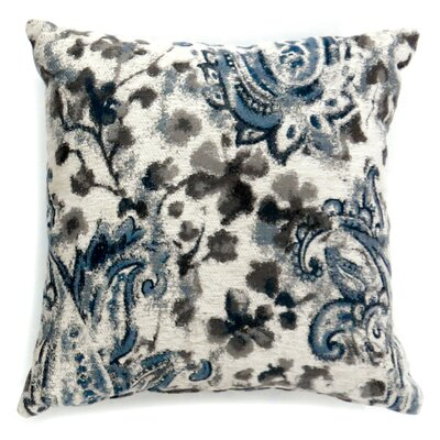 Lankin Paisley Print Throw Pillow Size: Large