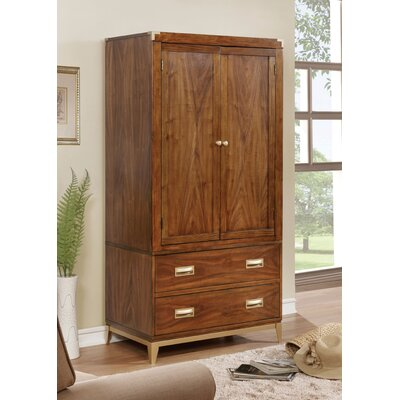 Venilale Transitional Armoire