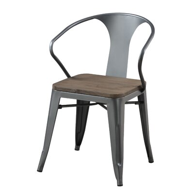 Chandler Side Chair Finish: Gray