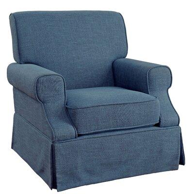 Onasio Armchair Upholstery: Blue