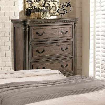 Solena Traditional 5 Drawer Standard Chest