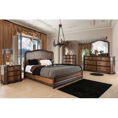 Barrington Transitional Panel Customizable Bedroom Set