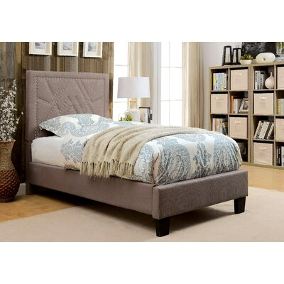 Ava Contemporary Panel Bed