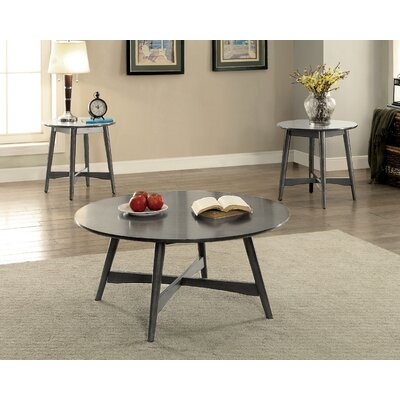 Dogwood Mid-Century Modern 2 Piece Coffee Table Set