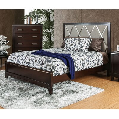 Lonny Contemporary Panel Bed